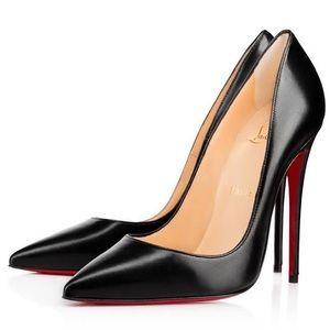 Christian Louboutin So Kate black Patent pump 36.5